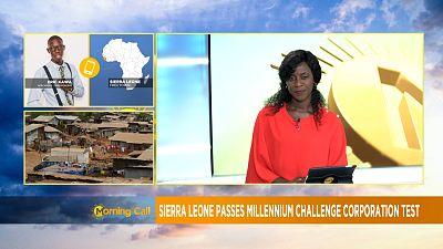 Sierra Leone's economy scores high in MCC report [Morning call]