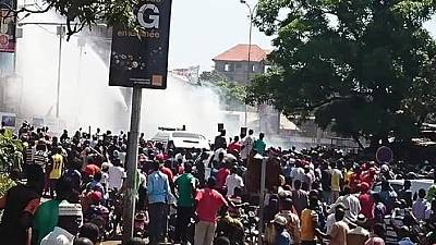 Guinean killed during clashes at funeral of anti-Conde protester