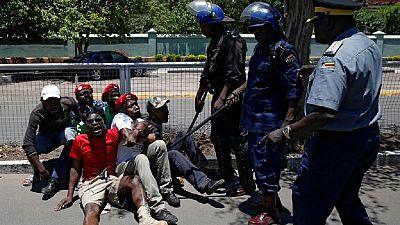 Zimbabwe police thwart 'better pay' protest, govt fires striking doctors