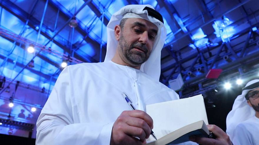 Omar Saif Ghobash at the Sharjah International Book Fair