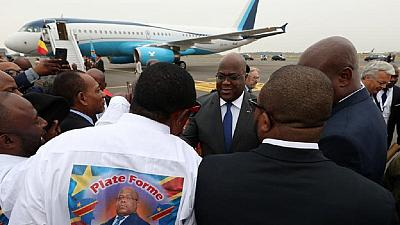 DRC president visiting Uganda with delegation of 117 people