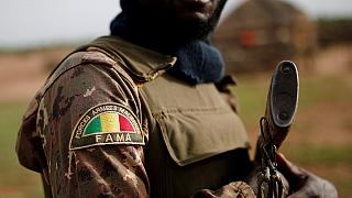 Hundreds of Malians march in solidarity with fallen soldiers