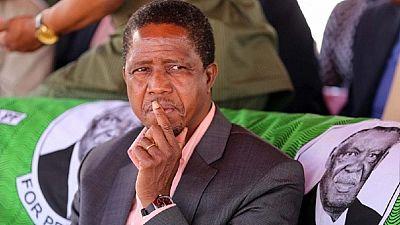 Zambia's Lungu denies stifling opposition