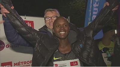 Kenya's Keter sets new Urban Train record