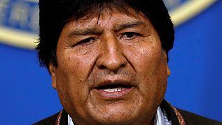 Bolivian president resigns