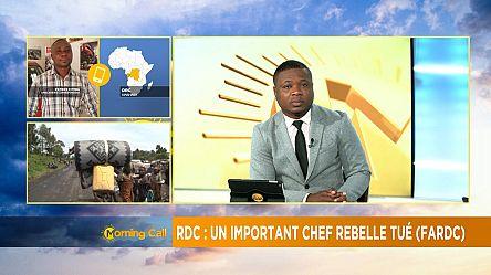 Un chef militaire tué par les FARDC [Morning Call]