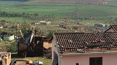Afrique du Sud : une tornade fait deux morts et détruit plusieurs bâtiments