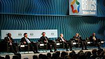 BRICS leaders discuss global economic setbacks
