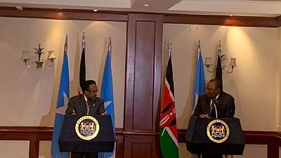 Kenya, Somalia to normalize relations after leaders meet in Nairobi