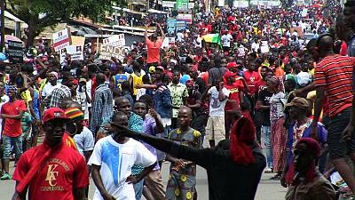 Teenager killed in Guinea during anti-govt protest
