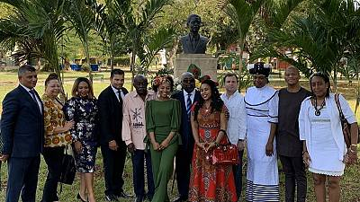 Un mémorial à la mémoire de Nelson Mandela à Cuba