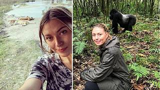 Tennis star Sharapova's Africa trip: beautiful Botswana, riveting Rwanda