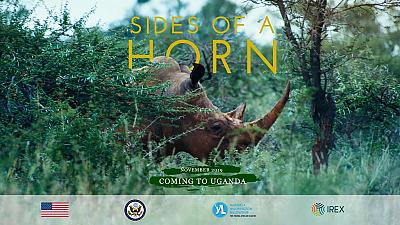 Conserving rhinos: 'Sides of A Horn' film premieres in Uganda