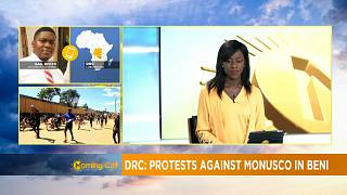 Protests against MONUSCO in DRC's Beni region [Morning Call]