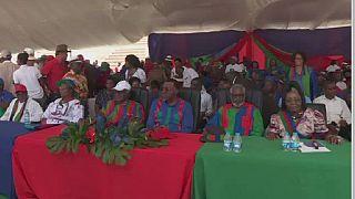 Élections en Namibie: dernier meeting de la SWAPO