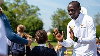 Kenya's Kipchoge named Male Athlete of the year