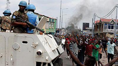 RDC : tirs nourris à Beni près de 2 camps de l'ONU après un nouveau massacre de civils (AFP)