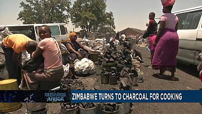 Zimbabwe turns to charcoal for cooking [Business Africa]