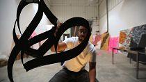Abu Dhabi Art spotlights French-Tunisian calligrafitti artist El Seed