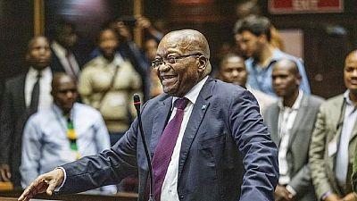Afrique du Sud : un tribunal rejette la demande d'appel de l'ex-président Zuma
