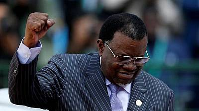 Namibia re-elects incumbent president as opposition claims fraud