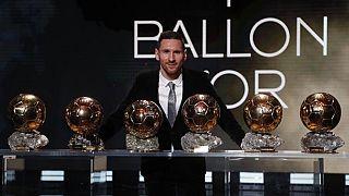 Ballon d'Or : Messi sacré pour la 6e fois, Rapinoe succède à Hegerberg