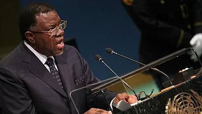 Namibie : le président réélu s'engage à lutter contre la corruption