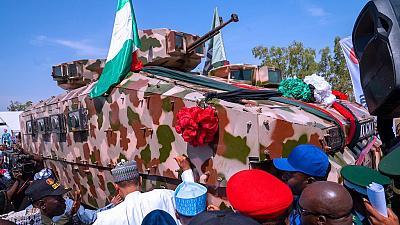 Nigeria: des chars de combat fabriqués par des usines locales