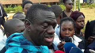 Uganda police blocks opposition leader's rival anti-corruption walk