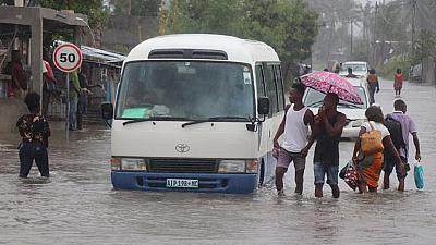 Mozambique's cyclone-battered city of Beira submerged by rains