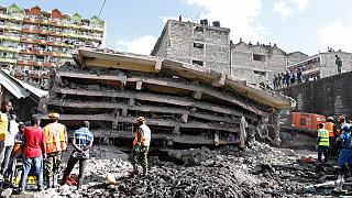Multi-storey building collapses in Kenyan capital, deaths reported