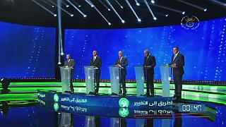 Historic TV debate for candidates in Algeria's Dec. 12 polls