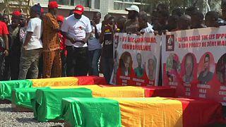 Guinée : l'opposition enterre ses victimes