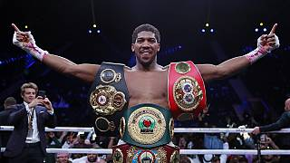 How Anthony Joshua reclaimed his titles in 'Clash On The Dunes' - Report