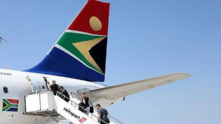 With embattled airline, South Africa moves to save rail company