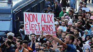 Algérie : manifestion anti-élection à Alger à 24 heures de la présidentielle