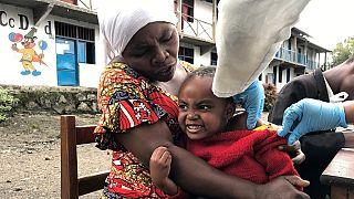 RDC : vaccination massive contre la rougeole