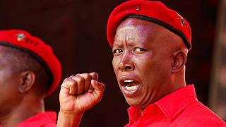 South Africa: Julius Malema re-elected as EFF leader