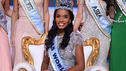 A second black beauty crowned global beauty as Miss Jamaica wins the 2019 Miss World title