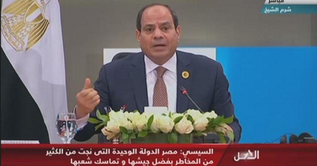 Libya's U.N.-backed govt held 'hostage' by rebel groups - Egypt prez.