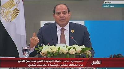 Libya's U.N.-backed govt held 'hostage' by rebel groups - Egypt prez.