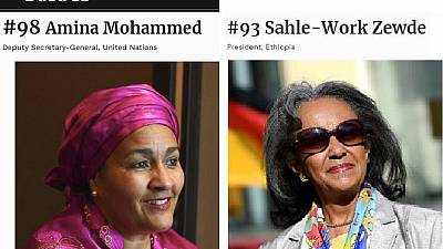 Two Africans on 2019 Forbes 100 Most Powerful Women list