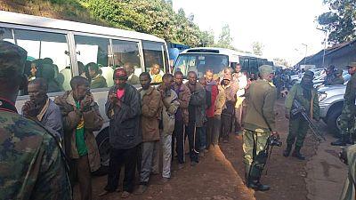 Est de la RDC : près de 300 rebelles hutus rwandais rapatriés au Rwanda