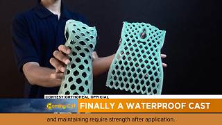 Finally a waterproof cast [Sci-tech]