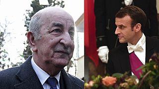 Conversation Macron-Tebboune: le président élu d'Algérie conspué par la rue