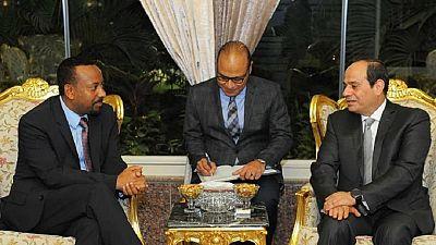Nile dam dispute: Al-Sisi tells Ethiopia PM to not beat war drums
