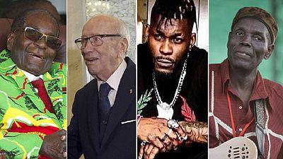 2019's notable deaths - Mugabe, Essebsi, DJ Arafat, Jawara, Mtukudzi etc.