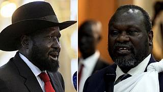 South Sudan's Kiir, Machar commit to forming unity govt