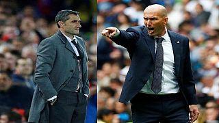 Classico : Zidane toujours invincible au Camp Nou