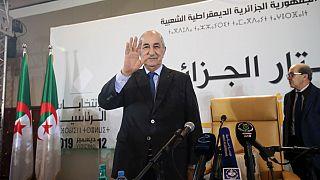 Algeria's new president Tebboune has been sworn in